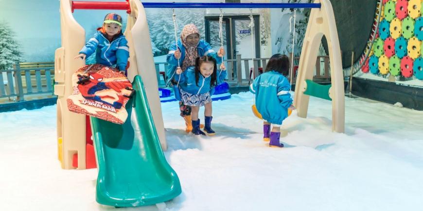 Khu vui chơi trượt tuyết Snow Town