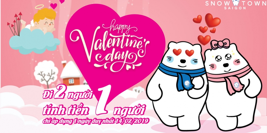 Single Ticket For Couple – Valentine đi 02 tính tiền 01