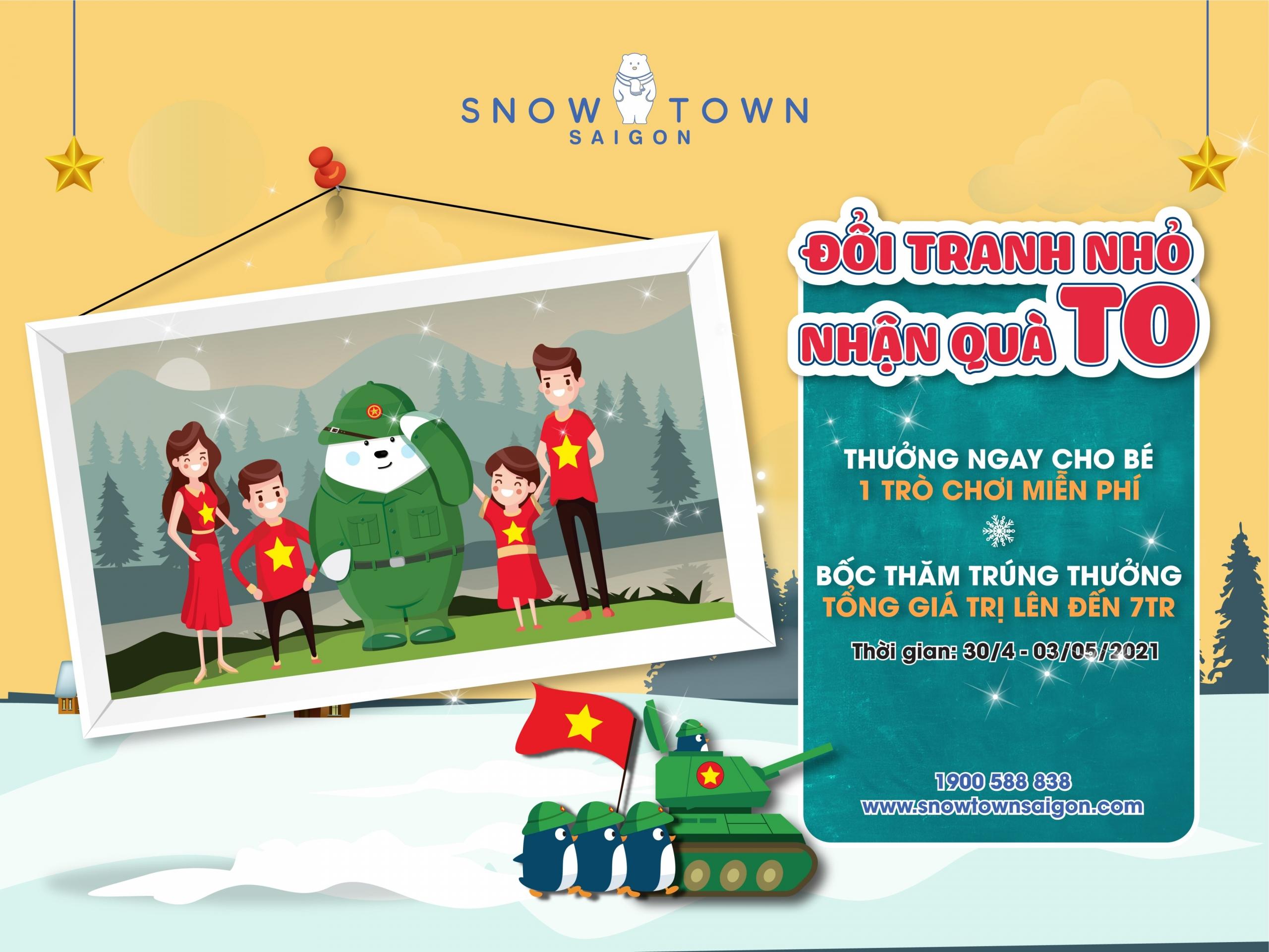 GIẢI PHÓNG MIỀN NAM CÙNG SNOW TOWN THAM GIA HỌC KÌ QUÂN ĐỘI NHÍ